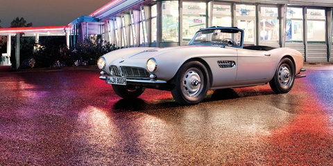 BMW restores the King's 507 roadster for Concours d'Elegance