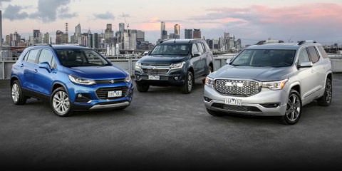 Holden Acadia SUV revealed alongside new Astra, Trailblazer and facelifted Trax, Barina