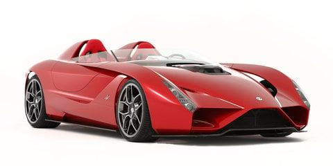 Kode57:: Ferrari-based speedster unveiled in California