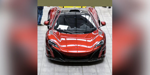 2017 McLaren 688HS caught undisguised