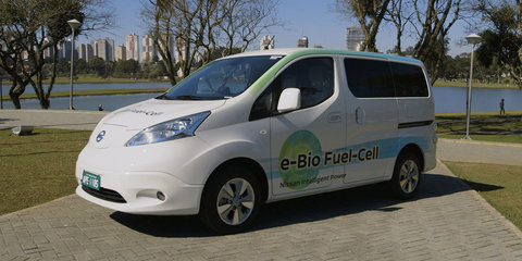 Nissan e-Bio Fuel-Cell: first solid oxide fuel-cell van debuts