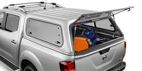 Nissan Navara Tradesman Canopy accessory recalled for window fix