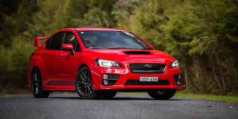 Ford Focus RS v Subaru WRX STI v Volkswagen Golf R Comparison:: Road Test