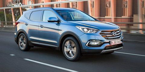 2017 Hyundai Santa Fe V6 set to make a permanent return