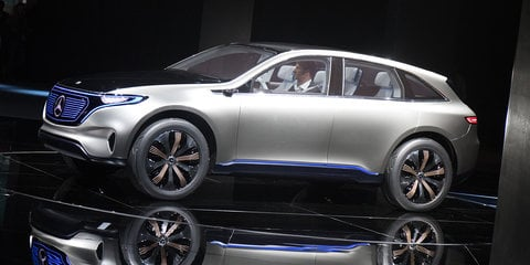 Mercedes-Benz Generation EQ revealed: Electric SUV debuts in Paris