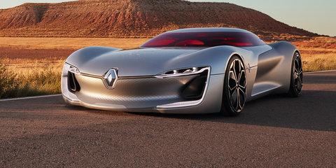 Renault TreZor concept previews next-gen styling at Paris motor show
