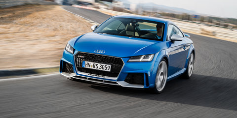 New Audi TT RS in Australia mid-2017, priced from around $145k