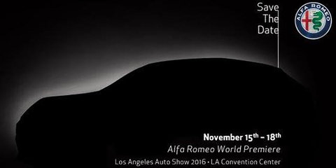 2017 Alfa Romeo Stelvio locked in for November debut at LA motor show