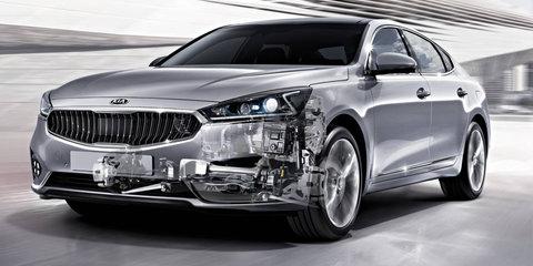 Kia reveals new eight-speed automatic transmission
