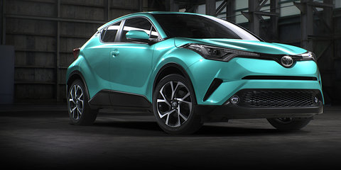 2017 Toyota C-HR detailed for Australia ahead of first-quarter launch
