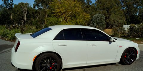 2016 Chrysler 300 SRT Hyperblack Review Review