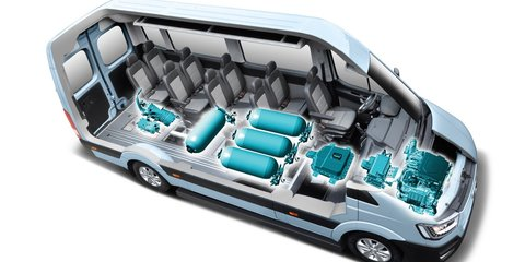 Hyundai H350 hydrogen concept revealed, diesel van could come to Australia