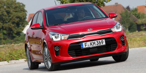 2017 Kia Rio details: three variants, 1.4-litre only at launch; 1.0 turbo to follow