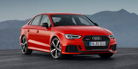 2017 Audi RS3 sedan revealed with TT RS five-pot