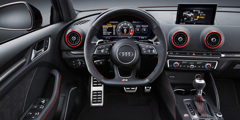 2017 Audi RS3 sedan revealed with TT RS five-pot - UPDATED