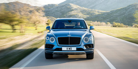 2017 Bentley Bentayga Diesel revealed and detailed