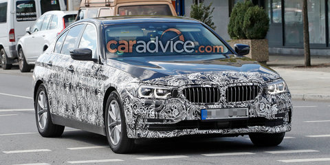 2017 BMW 5 Series sedan spied showing more skin