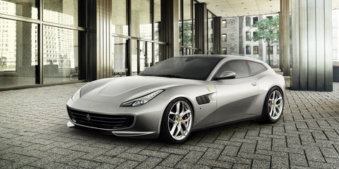 2017 Ferrari GTC4 Lusso T unveiled with turbocharged V8