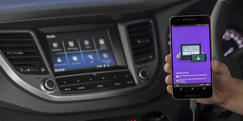 Hyundai adds Android Auto to i30, Elantra, Veloster, Tucson, Santa Fe