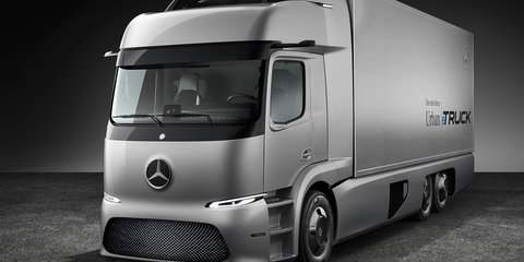 Mercedes-Benz Urban eTruck unveiled