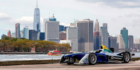 Formula E will hold first open-wheel race in New York City in 2017