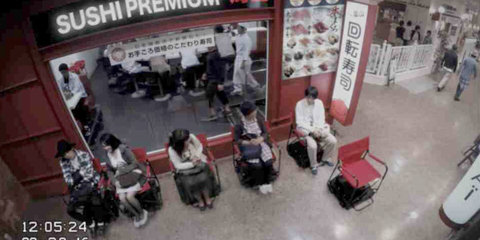 Nissan ProPilot self-driving chair makes queuing easier