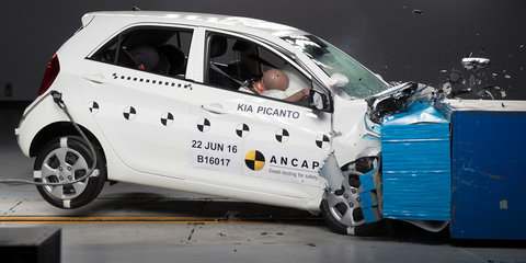 Kia Picanto hangs onto five-star ANCAP rating after local audit test