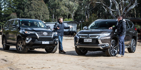 2016 Toyota Fortuner GXL V Mitsubishi Pajero Sport Exceed Twin Test