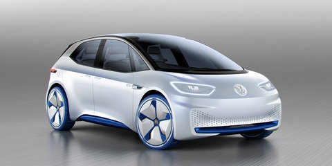 Volkswagen I.D. concept revealed in Paris, production version due in 2020