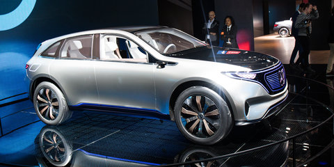Mercedes-EQ electric SUV will launch in Australia by 2020