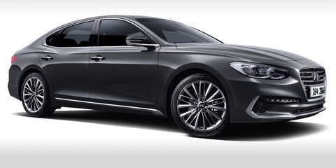 2017 Hyundai Grandeur revealed, no chance for Australia