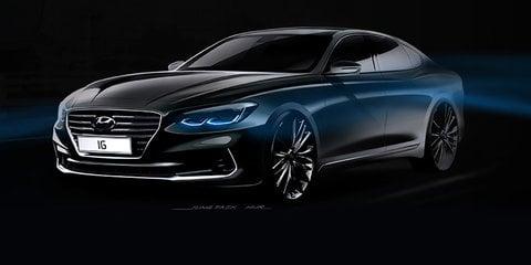 2017 Hyundai Grandeur teased, no chance for Australia