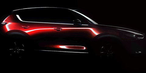 2017 Mazda CX-5 teased ahead of LA reveal