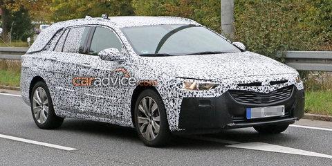 2018 Holden Commodore Sportwagon spied
