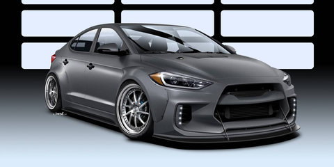 Hyundai Elantra gets ARK street-racer treatment for SEMA
