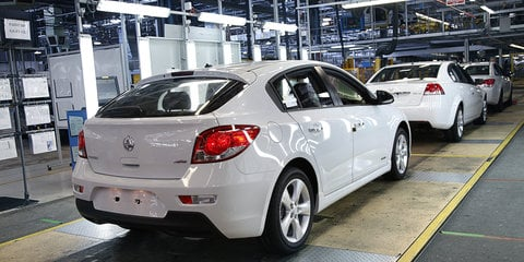 Holden Cruze Australian production ended