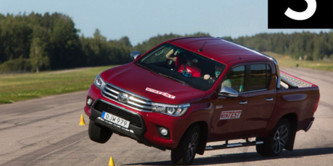 Toyota HiLux fails emergency swerve test - UPDATE