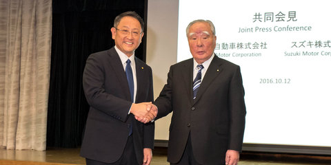 Toyota and Suzuki to investigate green vehicle, safety, IT partnership