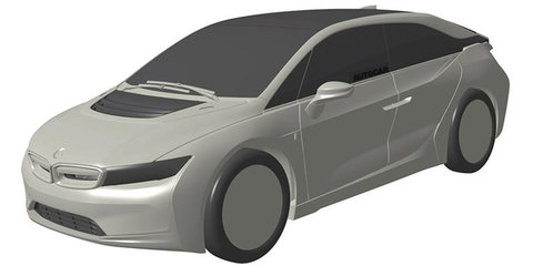 BMW i5 patent renderings point to new electric family car