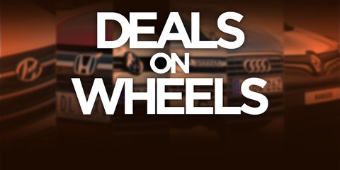 Weekend Deals on Wheels for October 15