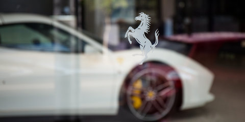 Personalisation taking centre stage at Ferrari dealerships