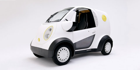 Honda unveils 3D-printed cookie delivery van in Japan