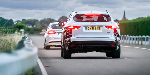 Jaguar Land Rover showcases new autonomous and connected vehicle technologies
