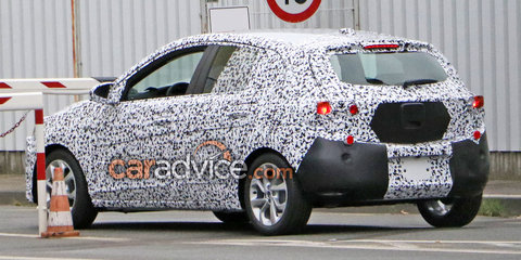 2018 Opel Corsa spied testing