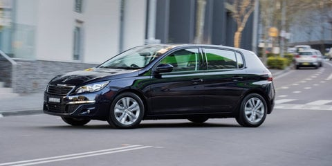 Peugeot 308 Active gets rear-view camera, navigation as standard:: $27,990 starting price