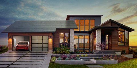 Tesla Solar Roof mimics traditional tiles, Powerwall 2 boosts capacity
