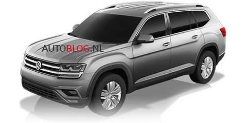 2017 Volkswagen Atlas: production CrossBlue SUV to debut end of October