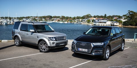 2017 Audi Q7 v 2016 Land Rover Discovery comparison