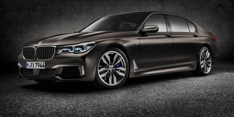 2017 BMW M760Li xDrive detailed for Australia: $419,000 starting price for sporty flagship limousine
