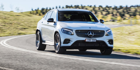 2017 Mercedes-Benz GLC Coupe pricing and specs: Sports-styled SUV makes local debut